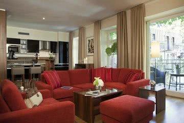 Wohnbereich Küche Apartmenthotel