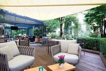 Lounge Hotelrestaurant Maximilian Munich