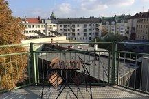Ausblick Roof-Garden Suite