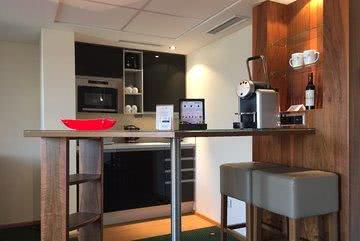 Küche Roof-Garden Suite Aparthotel