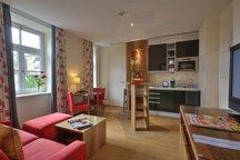 Wohnbereich Studio Hotel Apartment