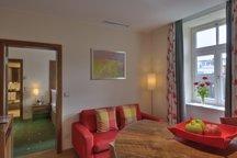 Wohnbereich Apartment München