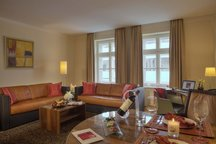 Wohnbereich Familienzimmer München