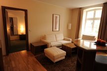 Wohnbereich Company Zimmer Hotel München