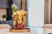 Details Einrichtung Frischer Obstkorb Aparthotel München