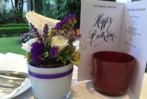 Blumendekoration Feier Hotel München