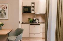 kitchenette studio apathotel maximilan munich