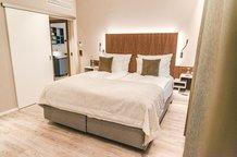 Schlafzimmer Park Suite Hotel München Innenstadt