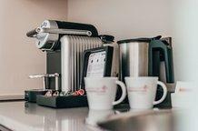 Nespresso Maschine auf dem Zimmer Hotel München Innenstadt