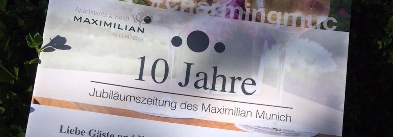 10 Jahre Maximilian Munich