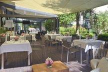 Terrasse Restaurant kleines Max