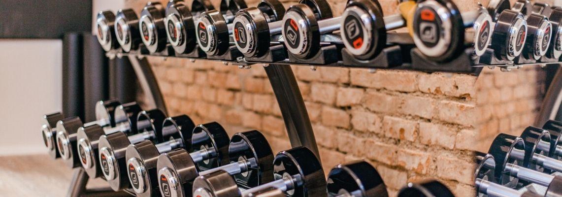 Fitness Hanteln im Aparthotel München Innenstadt