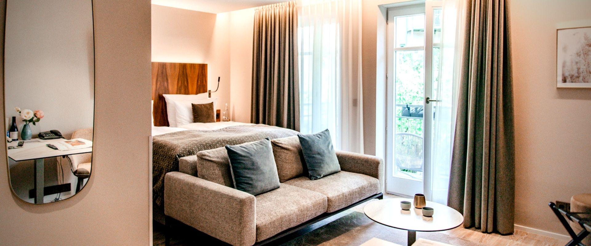 Apartments Schlafbereich Hotel München Innenstadt